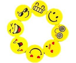 4 Stück Smiley Gum