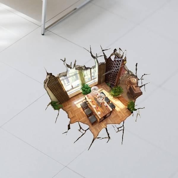 Dekorative 3d Boden Aufkleber Kaufen Pvc Ich Myxlshop Tip