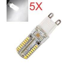 G9 LED Leuchtmittel 5W 5 Stück