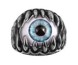 Ring Mit Blauem Auge