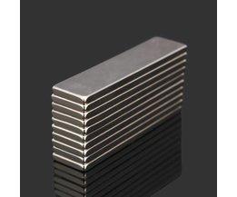 Längliche N52 Neodym-Magnet 10 Stück
