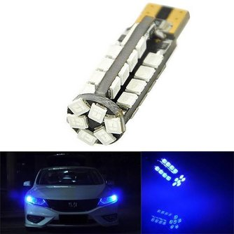 T10 W5W LED Auto-Lampe 38 SMD 2835 194 501 Blau