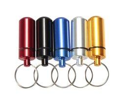 Pillbox Mit Schlüsselanhänger