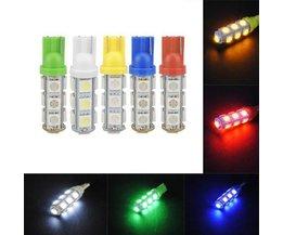 T10 W5W LED Auto-Lampe 5050 13-SMD