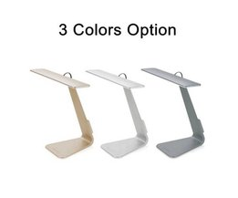 Design-LED-Schreibtischlampe In 3 Farben Mit USB