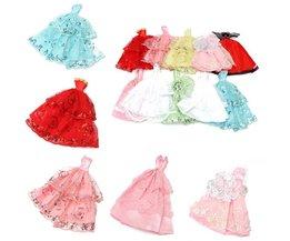 Handmade Barbie-Kleid 10 Stück