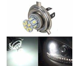 LED-Birne H4 12SMD 5630 White Lights Für Auto