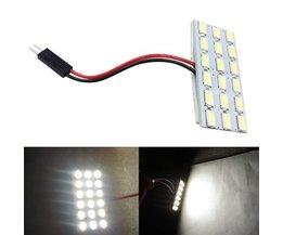 Auto-Innenraum-LED 5630 18SMD Weiß