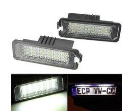 Beleuchtung LED-Kfz-Kennzeichen Für Volkswagen Und Porsche