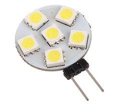 LED-Lampen-G4 12V-Regal Mit 6 SMD LEDs
