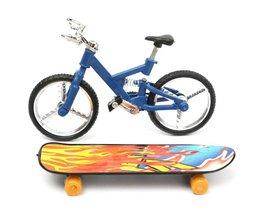 Finger Kate Boards Und Finger Radfahren