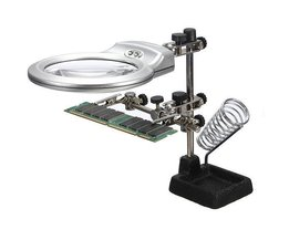 Standard-Und Vergrößerungsglas Mit LED-Licht