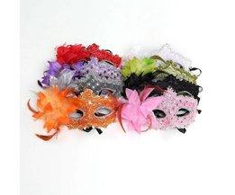 Venetian Eyemasks In Verschiedenen Farben