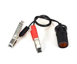 Batterieanschlüsse Mit Zigarettenanzünder-Buchse