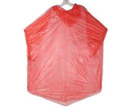 Wasserdichte Regen-Poncho Aus Kunststoff