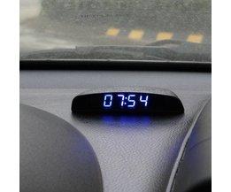 Auto Digitaluhr Mit Thermometer & Voltmeter