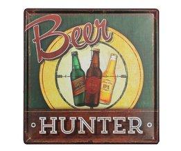 Retro-Bier-Werbung