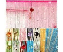 Romantische Und Atmosphärische Perlenvorhang 2 X 1 Meter