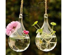 Kleine Vase In Form Regentropfen