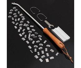 Branding Iron BBQ Mit 55 Buchstaben