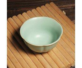 Chinese Teacup Aus Keramik