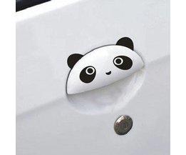 Panda-Auto-Aufkleber