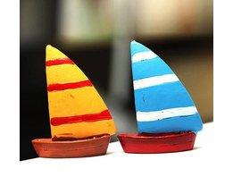 Miniatur-Segelboote Aus Resin