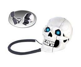 Skeletal Schädel Telefon