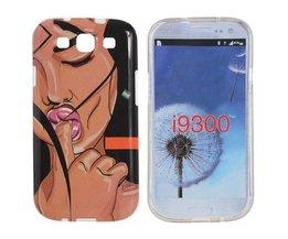Telefon-Kasten Mit Push Für Samsung Galaxy S3