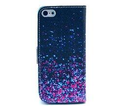 Stehend Fall Mit Starry Night-Muster Für IPhone 5C