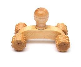 Holz-Massage-Rolle