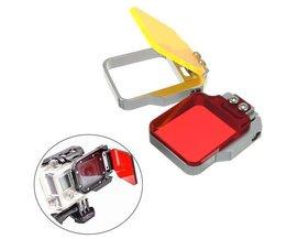 Rot Oder Gelb Dive Filter Für GoPro Hero 3 + / 4