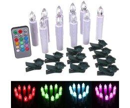 LED Weihnachtsbaum-Leuchten 10 Stück