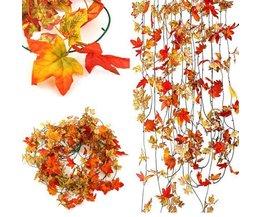 Gefälschte Herbstlaub Mit