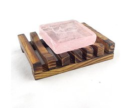 Holz-Handgemachte Seifenschale Für Das Badezimmer