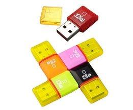 USB 2.0 Micro SD-Kartenleser