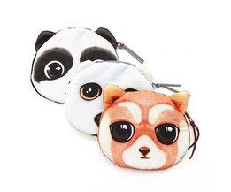 Fun-Taschen 3D Panda Bear Cat
