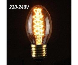 Retro Edison-Glühlampe AC 220-240V