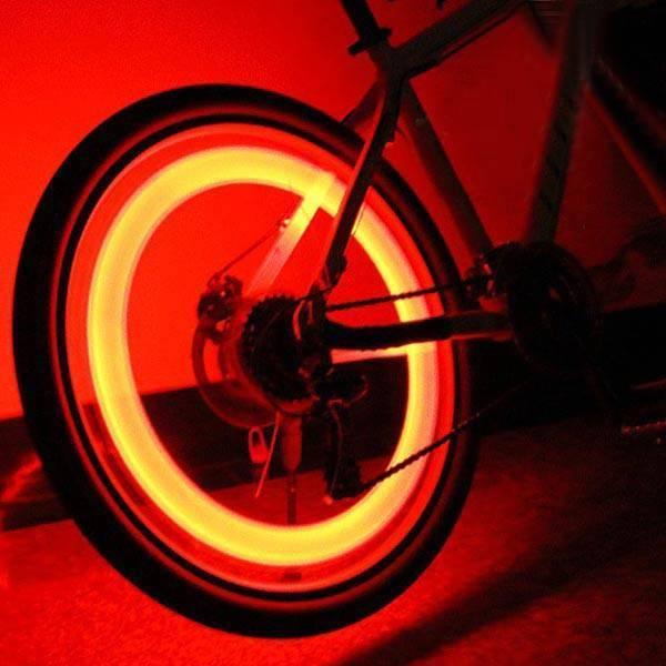 Fahrrad Rad LED Beleuchtung Haifischform