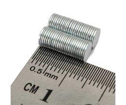 50 Neodym-Magnete Zum Beispiel Auf Den Kühlschrank