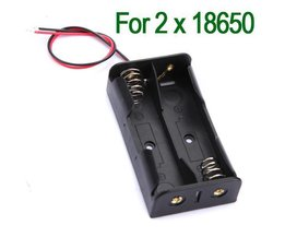 Kunststoff-Batteriehalter Für 2X 18650 Batterien