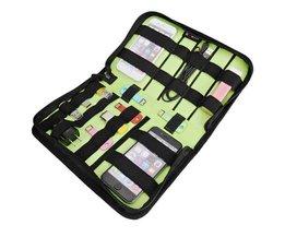 Multifunktionale Aufbewahrungstasche Für Elektronik-Zubehör