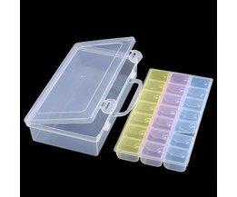 Aufbewahrungsbehälter Mit 21 Boxen