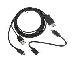Mikro-USB Zum HDMI Kabel-Adapter Für Mobiltelefone