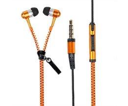 Freisprecheinrichtung In-Ear-Kopfhörer Für Handy-Reißverschluss-Form