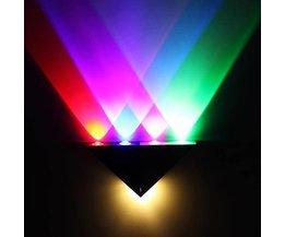 Wandleuchte LED 5W Mit Multi-Farb-Licht