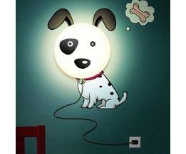 LED Wandleuchten Hund