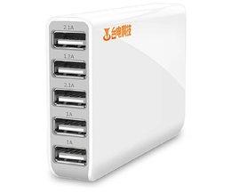 USB-Hub Mit 5 Ports Für Tablet Und Smartphone