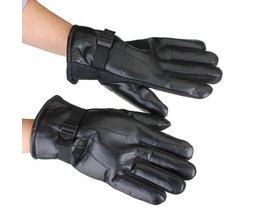 Hot Leder Motorrad Handschuhe