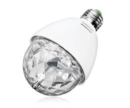 Rotierende Disco RGB-LED-Birne